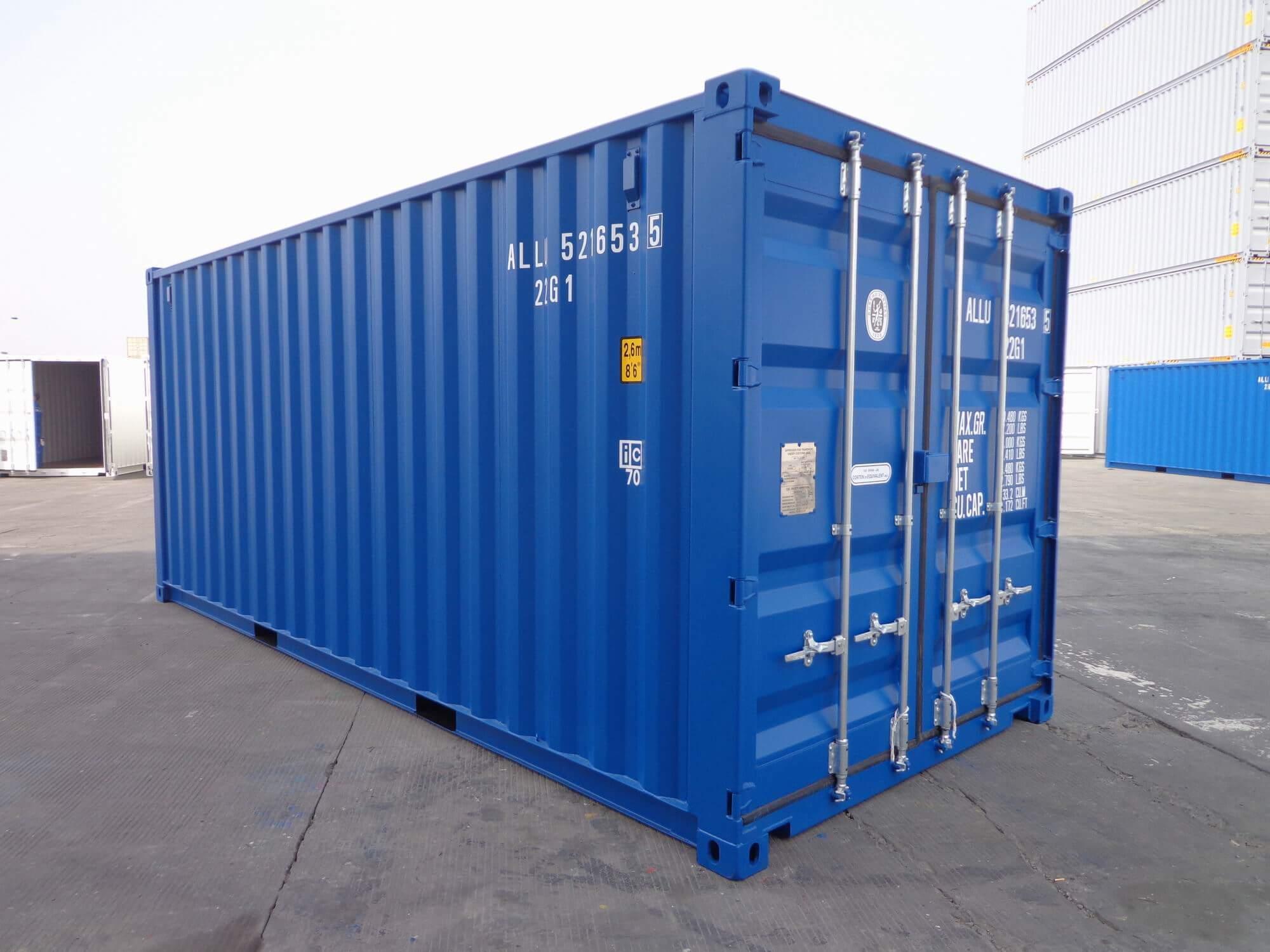 zeecontainer huren of een huurkoop realiseren? Het kan bij Alconet Containers.