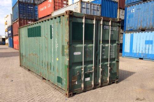 20FT Zeecontainer B-Kwaliteit 01