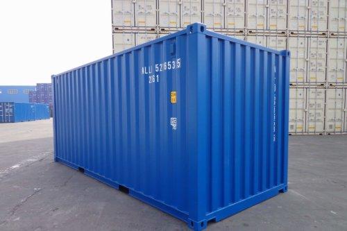 Afmeting 20ft zeecontainer