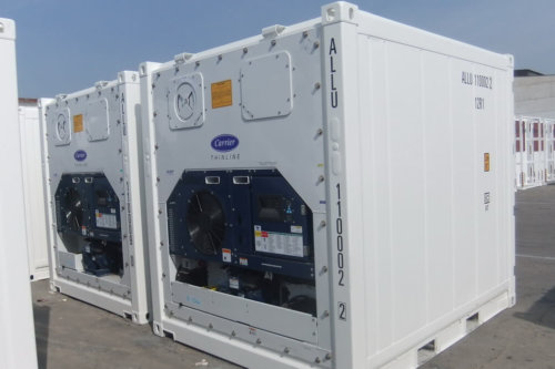 Afmeting 10ft reefer container