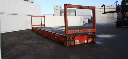 40FT Flatrack Collapsible 01