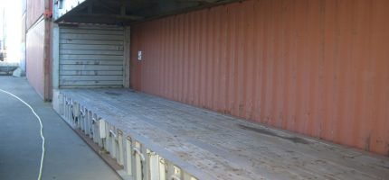 40FT Flatrack container Fixed-End 02