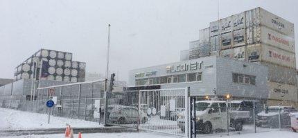 Alconet sneeuw depot 1 gesloten