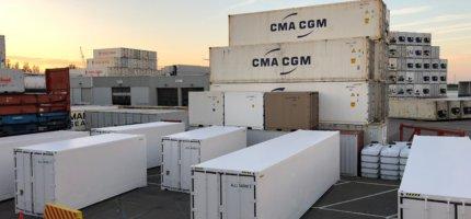 Koelcontainer huren voor extra capaciteit, koele opslag van groente, fruit en medicatie