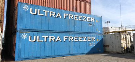 Ultra Freezer reefer containers te huur en te koop bij Alconet Containers Rotterdam