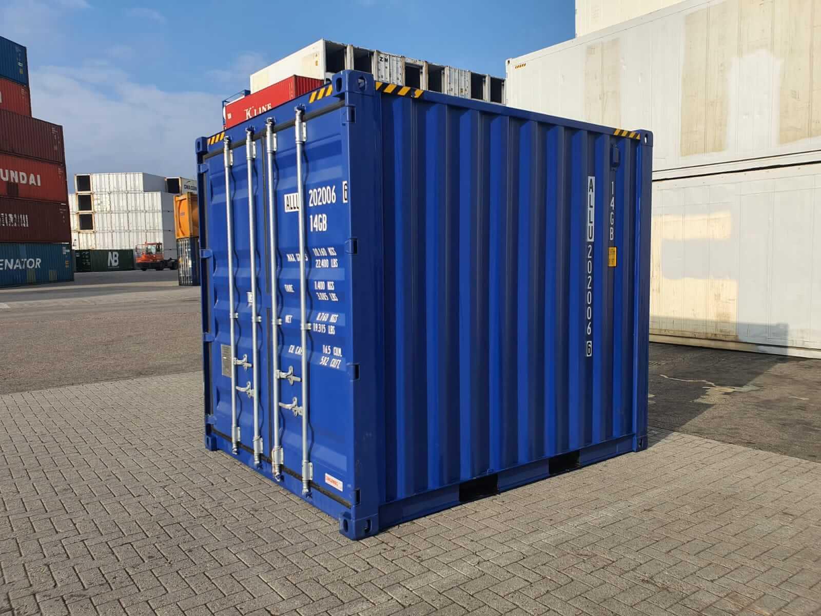 10FT zeecontainers te koop